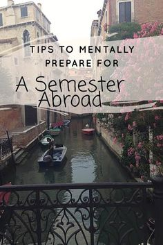 Tips To Mentally Prepare For A Semester Abroad // follow us @motivation2study for daily inspiration #studyabroad
