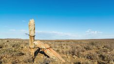 A linear timelapse in early morning sunlight of old abstract, historical rock fence poles tied together with rusted wires in a Karoo farm landscape. Rock Formations, Early Morning, Windmill, Geology, Sunlight, Stock Footage, South Africa, Fence, Landscape