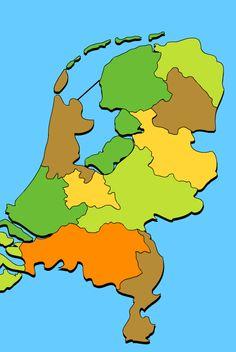 Topografie van Nederland: PROVINCIEHOOFDSTEDEN