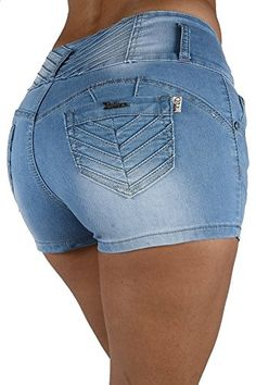 DH1125 - High Rise Colombian Style Stretch Denim, Butt Lift, Sexy ...