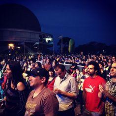 Movistar Free Music 2012 en el Planetario Galileo Galilei (Buenos Aires) #movistarfreemusic