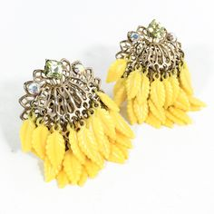 A personal favorite from my Etsy shop https://www.etsy.com/listing/224820754/sale-super-60s-vintage-yellow-thermoset