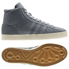 WHAT a beauties! ADIDAS Gents Basket Profi The Soloist Shoes, tech grey / light bone / tech grey The Soloist, Adidas Originals, The Originals, Adidas Shoes, Gentleman, Men's Shoes, High Top Sneakers, Louis Vuitton, Footwear