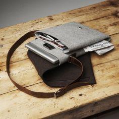 Macbook messenger bag