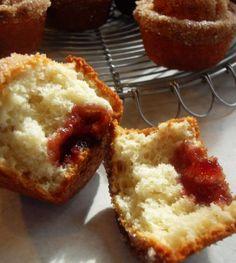 The English Kitchen: Jam Doughnut Muffins