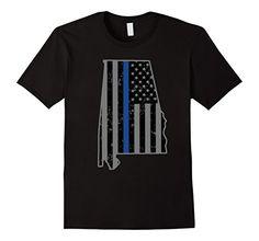 Alabama Police & Law Enforcement Officer Thin Blue Line Tees - Male Small - Black Shoppzee Police & LEO Tees http://www.amazon.com/dp/B016X3FNWW/ref=cm_sw_r_pi_dp_EI9Swb1BVG6DX