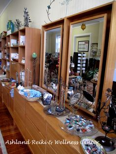 Finely crafted jewelry, healing crystals and other unique pieces in an eclectic mix for personal use or gift giving.