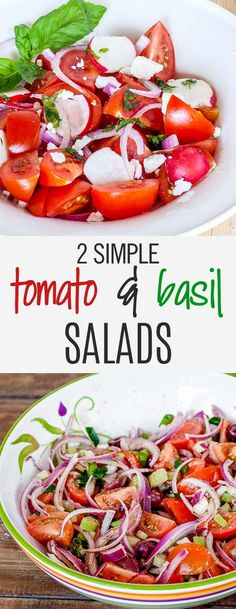 If you love tomatoes then I have just the thing, two simple salads using the delicious Campari tomatoes, ready in no time.
