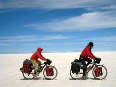 Le #Desert de sel de #Bolivie à vélo