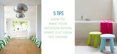 Your vacation rental may be the biggest investment of your life. You need to run it like a business to see a return on your investment these days. There is more competition out there -- the number of vacation rentals is increasing steadily. How do you make your vacation rental stand out in a saturated market? Here are some tips to help you…