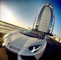Dubai is home to many remarkable architectures and luxury cars.