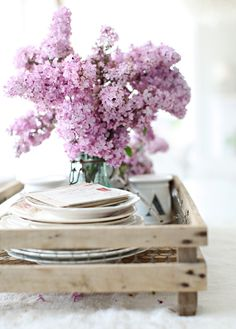 Typically only in season for a few week's each May, Lilacs can be an incredible, romantic addition to a late spring wedding.