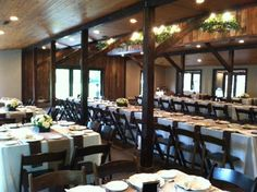 Charleston, SC Wedding Catering | Reception Ready | B. Gourmet Catering | www.bgourmetcatering | Venue: Magnolia Plantation's Carriage House | Rentals: EventWorks | Florist: Tiger Lily