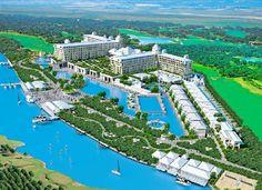 Turkije, Titanic de Luxe Hotel Belek 5*.  Zal in mei 2013 geopend worden. Zal uw verwachtingen overtreffen, Veel zwembaden, glijbanen, een rivier, een prachtig strand en een groot scala aan faciliteiten zorgen voor een onvergetelijke vakantie! Gelegen in een schitterende groene omgeving.