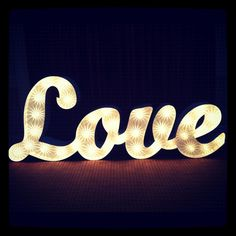 Vowed & Amazed. Lights - showing at the vintage wedding fair.