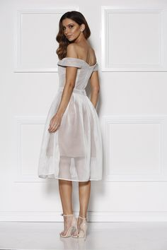 Thurley heirloom dress white