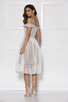 Grace & Hart - Hypnotic Floaty Dress White