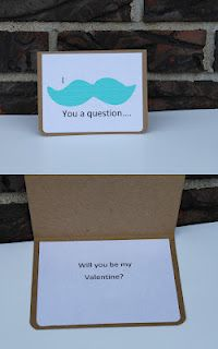 """I """"mustache"""" you a ?....Will you be my valentine?"""