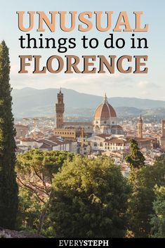 Florence is one of the most charming and visited cities in the world, but there are some hidden gems not many people know about. Wondering what to do after you've visited the Uffizi Gallery and Ponte Vecchio? There's a whole Florence to discover! Visit Florence, Florence Italy, European Destination, European Travel, Cinque Terre, Bora Bora, Cool Places To Visit, Places To Travel, Travel Destinations