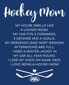 Celebrate and Thank your Hockey Mom this Mother's Day and everyday for all they do! Check out our Hockey Mom Shop for great gifts.