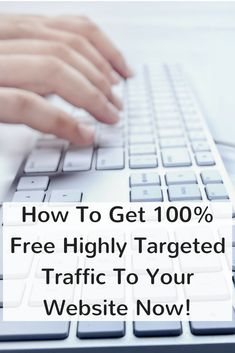 How to get targeted traffic to your website or offer free. This is one of the best ways to start getting highly targeted visitors today. Housekeeping Tips, Interesting Information, 100 Free, Innovation, Surfing, How To Get, Money, Website, Learning