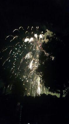 San salvador fireworks