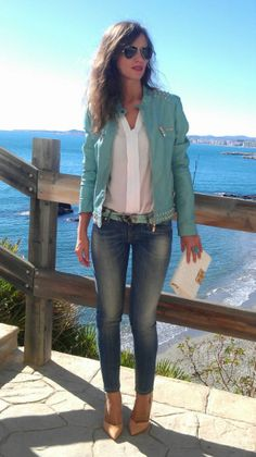 Jeans and mint Love!!!