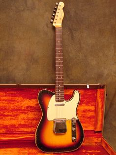 1960 Telecaster Custom in Sunburst