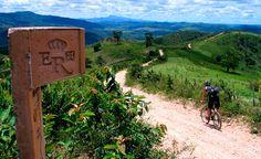 Trecho da Estrada Real (Foto: Portal do Instituto Estrada Real - reprodução)