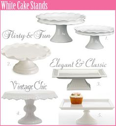 DIY Cake Pedestals - Craft Crazy Mom (could make these into cute little wardrobe plates to hold rings and things)