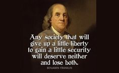 Here is Ben Franklin Quotes for you. Ben Franklin Quotes ben franklin quote any society that will give poster. Quotable Quotes, Wisdom Quotes, Quotes To Live By, Me Quotes, Motivational Quotes, Inspirational Quotes, People Quotes, Lyric Quotes, Qoutes