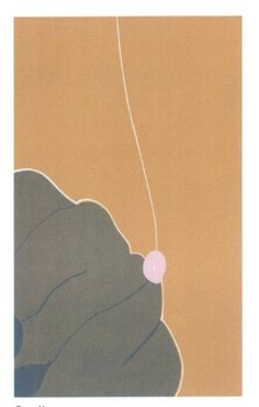 Gary Hume, Untitled works from the Here's Flowers series, 2006, linocut prints on paper, Tate