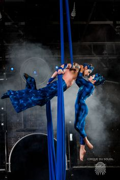 A look at Cirque couples: our aerial duo from Dralion.