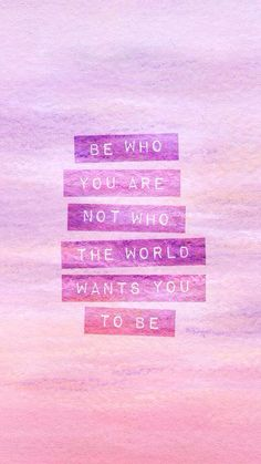 Be Who You Are. Simple and wonderful iPhone wallpapers quotes. Typography quotes and inspirational words. Tap to see more new beginning quotes wallpapers for iPhone. - - You Are Pin New Beginning Quotes, Quotes About New Year, Quotes About Pink, Pink Quotes, Ipad Wallpaper Quotes, Wallpaper Backgrounds, Wallpaper Desktop, Purple Wallpaper, Trendy Wallpaper