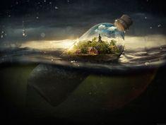 Drifting Away por Erik Johansson - Galeria 2Design Blog