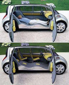 Caravan Design 628604060461068109 - Renault Couchette Source by hoelsaout Cool Ideas, Creative Ideas, Diy Ideas, Buick, Velo Design, Design Design, Gt R, Kombi Home, Cool Inventions