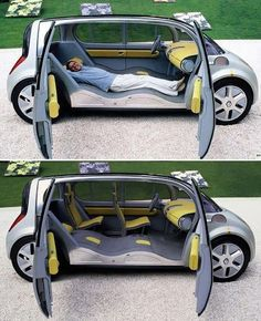 Caravan Design 628604060461068109 - Renault Couchette Source by hoelsaout Buick, Velo Design, Design Design, Kombi Home, Cool Inventions, Car Wheels, Transportation Design, Electric Cars, Cool Gadgets