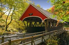 How neat! I plan to travel under as many covered bridges as possible! 15 Picturesque New England Towns for Your Next Road Trip | Fodors #ANCORoadTripContest