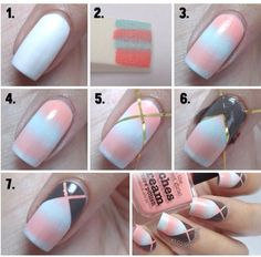 awesome Easy Nail Art for Beginners Step By Step Tutorials