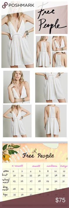 """Free People Intimately Tilly Tunic.  NWOT. Free People Intimately Tilly Tunic, 100% cotton, washable, 16"""" armpit to armpit (32"""" all around), 32"""" empire waist, 33"""" length, measurements are approx.  New without tag, never worn.  NO TRADES Free People Tops"""