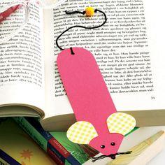 Bogmusen holder styr på bogormens læsning.