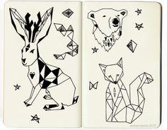 Andrea Lauren: Into my sketchbook part one.