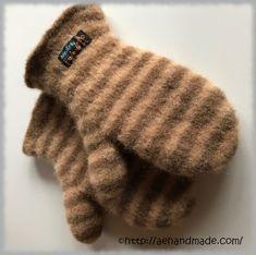 Sticka & tova vantar Mittens, Crochet Patterns, Gloves, Beanie, Style Inspiration, Knitting, Hats, Creative, Fingerless Mitts