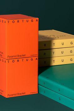 Tortuga by Hey Studio — Are. Tea Packaging, Brand Packaging, Packaging Ideas, Makeup Package, Water Bottle Design, Typography Layout, Catalog Design, Palette, Grafik Design