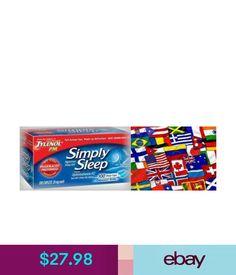 Sleeping Aids Simply Sleep Nighttime Sleep Aid Tablets 100Ct -Free Worldwide Ship Tylenol Pm #ebay #Fashion