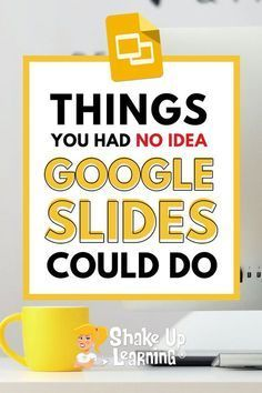 I talk about the wonders of Google Slides CONSTANTLY and frequently refer to it as the Swiss Army Knife of G Suite. It can do all kinds of things! In this post and podcast series, I will show you 25 Things You Didn't Know Google Slides Could Do.