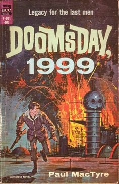 Doomsday, 1999, by Paul MacTyre, uncredited cover