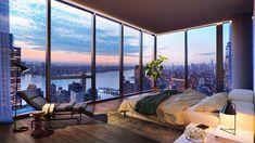 New York Penthouse, Luxury Penthouse, Apartment View, Dream Apartment, Penthouse Apartment, Nyc Apartment Luxury, Chicago Apartment, Manhattan Apartment, New York Apartments