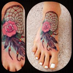 dream catcher with roses - This is my favorite this may be it!