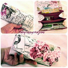 Wallet necessary clutch fabric design - Portafoglio necessary clutch stoffa - card & cash wallet - fabric wallet by SewinItaly on Etsy https://www.etsy.com/listing/205257167/wallet-necessary-clutch-fabric-design